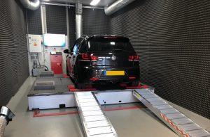 Chiptuning Volkswagen Golf R CP rollerbank