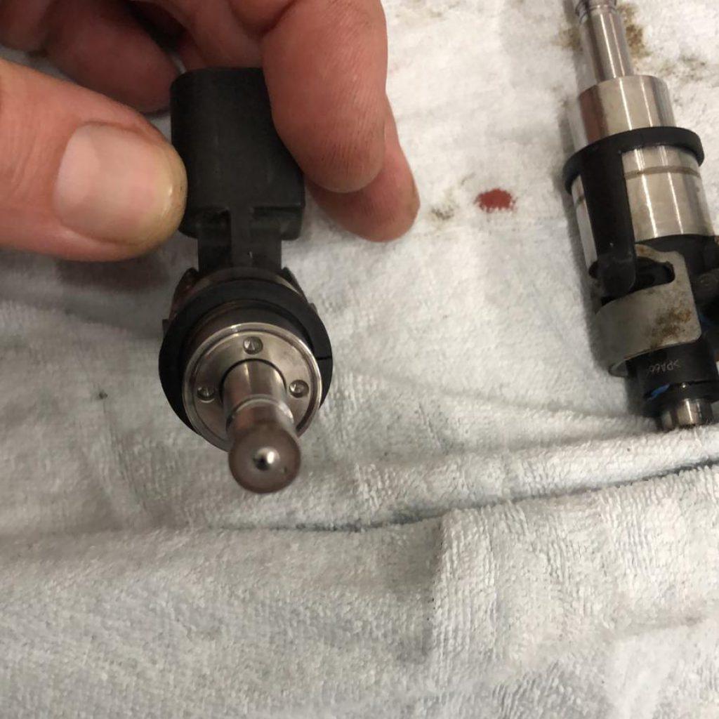 gereinigde injectoren